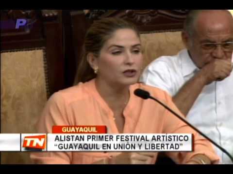 Alistan primer festival artístico Guayaquil en unión y libertad