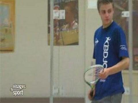 Visages du Sport : Paul Pic - Squash