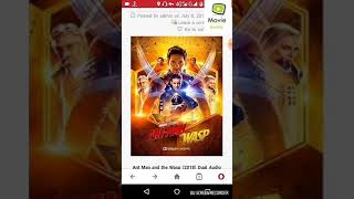 How to download Ant Man and the Wasp in hindi 300mb