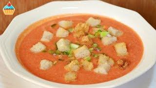 Ну, оОчень вкусный - Суп Гаспачо!