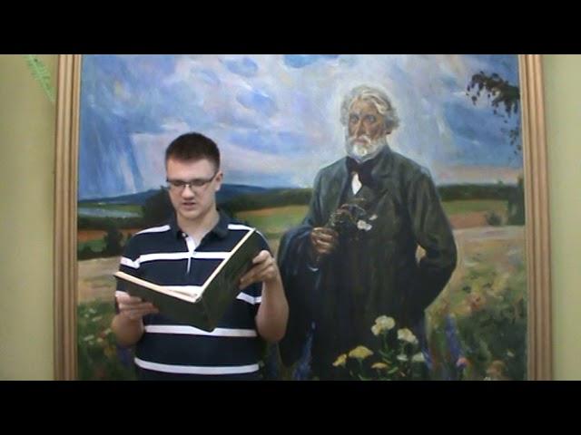 Изображение предпросмотра прочтения – ИльяЧерепов читает произведение «Как хороши, как свежи были розы...» И.С.Тургенева