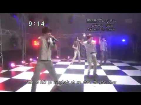 TVXQ - Share The World (Live)