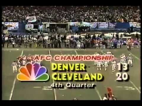 """The Drive"" 1987 AFC Championship"