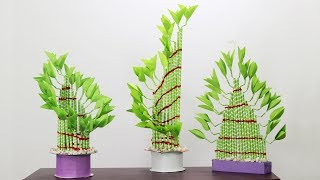 Amazing Plants Crafts 'Lucky Bamboo Plant'   Bamboo Plants   Lucky Plants   Paper Crafts   EP25