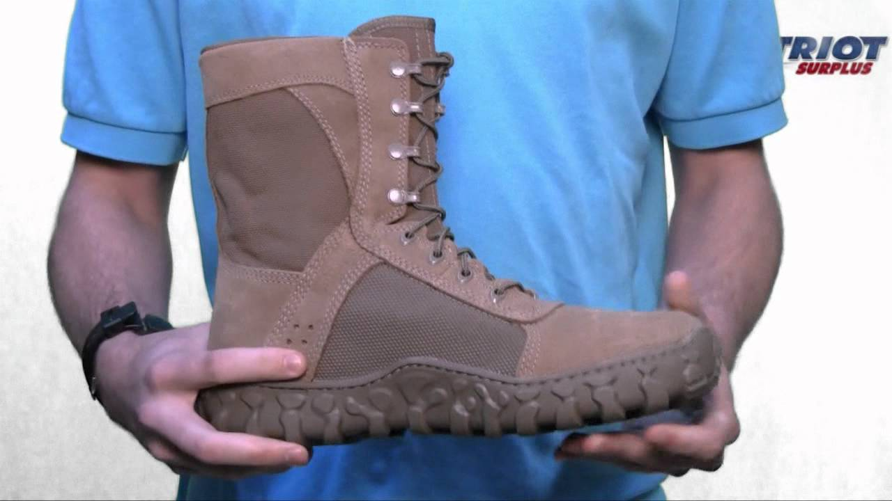 Rocky Mens S2V Special Ops Military Boot - YouTube