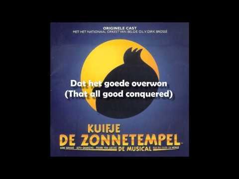 08 - Kuifje de Zonnetempel - De zon [Tintin Musical - English Translation]