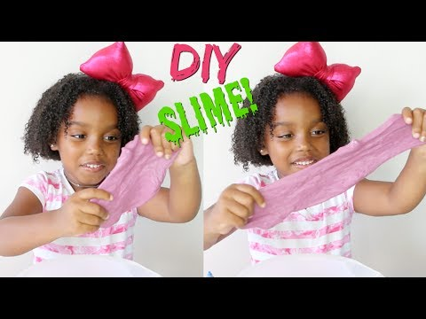 DIY: How To Make Your Own Slime | Yoshidoll