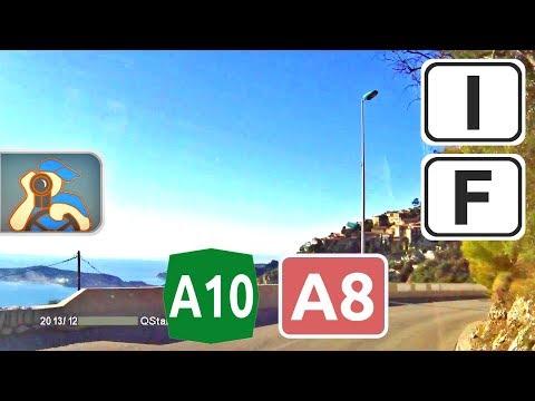 Italia, A10, ✕ Sanremo - France, M6007, Villefranche-sur-Mer