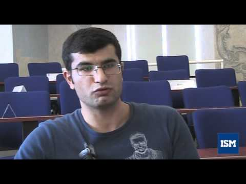 Student from Azerbaijan about ISM and Lithuania