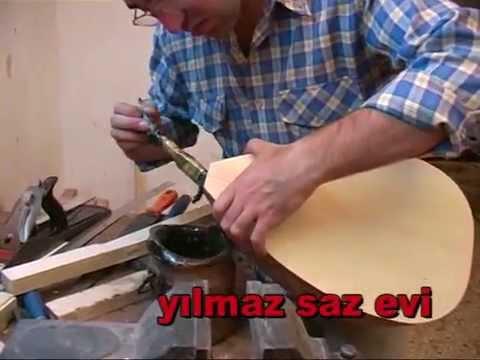 Yilmaz Saz Evi Baglama Yapimi 1 Bolum Youtube