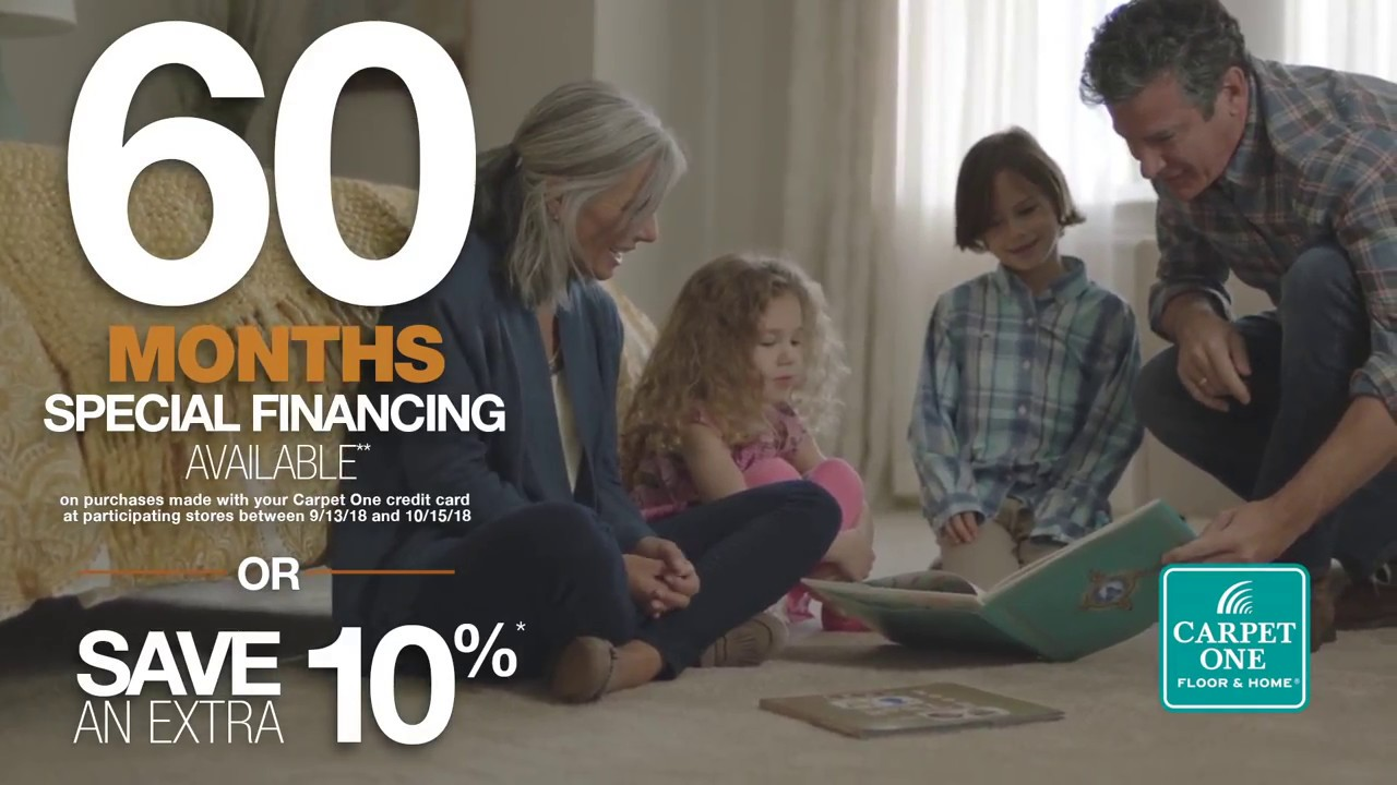 Get Special Financing From Mercer Carpet One Floor Home During The National Tigressa S Event