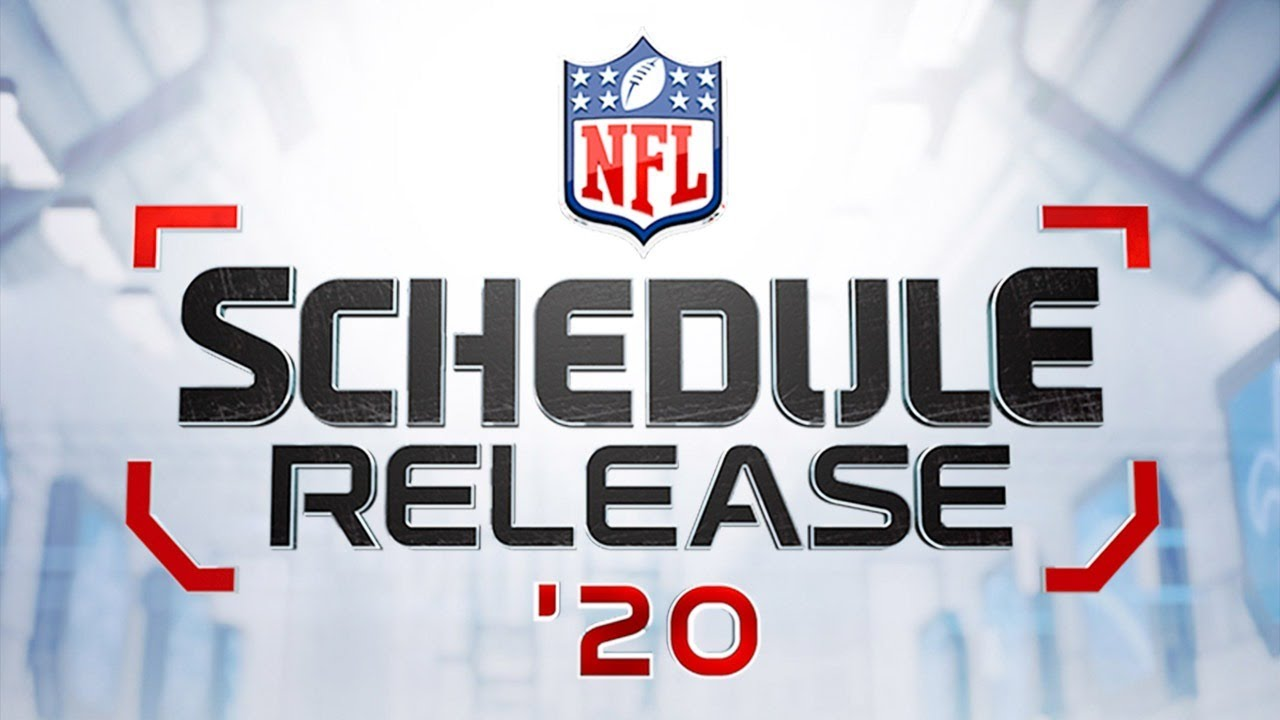 NFL schedule 2020: Monday, Sunday, Thursday night football ...