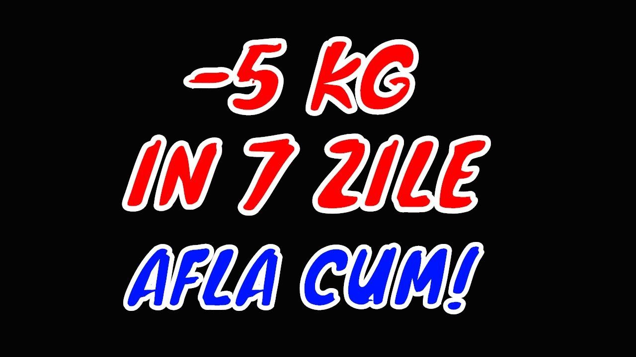 dieta 5 kg in 7 zile