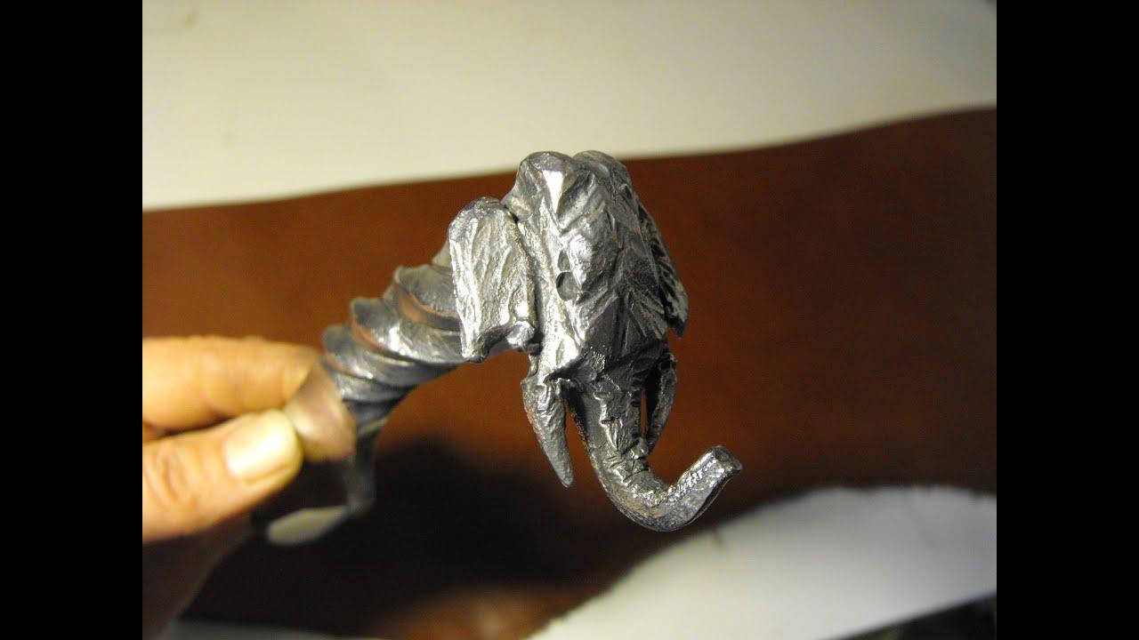Blacksmithing Knifemaking Forging An Elephant Head