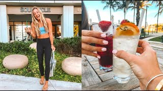 Soulcycle, DIRT Cafe, Sangria + Tanning | Miami Day 1