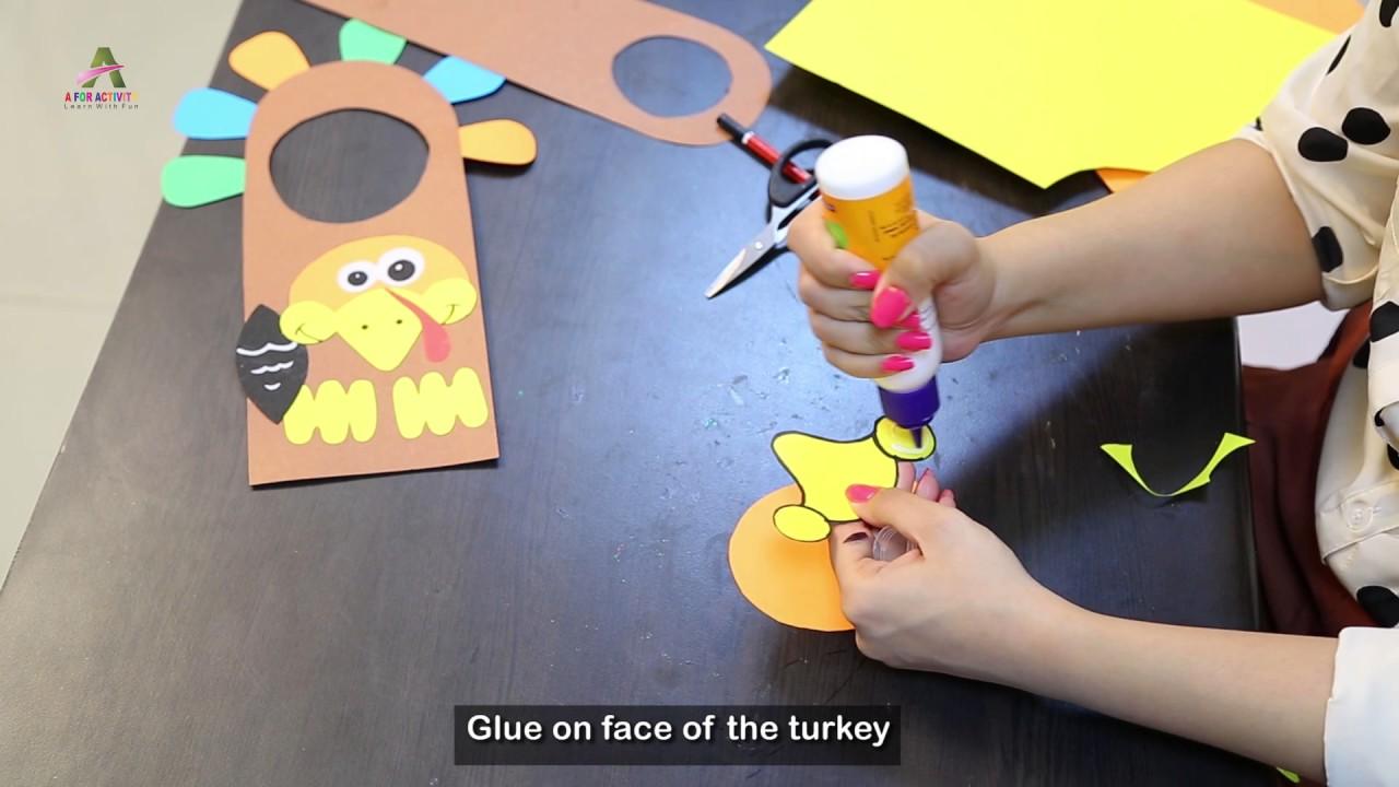 How to make Door Knob: Art & Craft- Creative Activity - YouTube