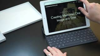 ipad pro 9 7 smart keyboard unboxing