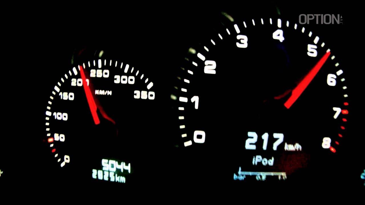 314 Km H En Porsche 911 Turbo Option Auto Youtube