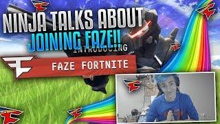 NINJA TALKS ABOUT JOINING FaZe CLAN! (Fortnite Clips & Fails)