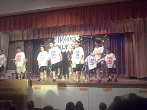 Hayhurst Elementary School Talent Show / May 14, 2009 - CHA CHA SLIDE!