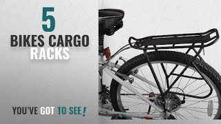 Top 10 Bikes Cargo Racks [2018]: Ibera Bike Rack – Bicycle Touring Carrier with Fender Board,