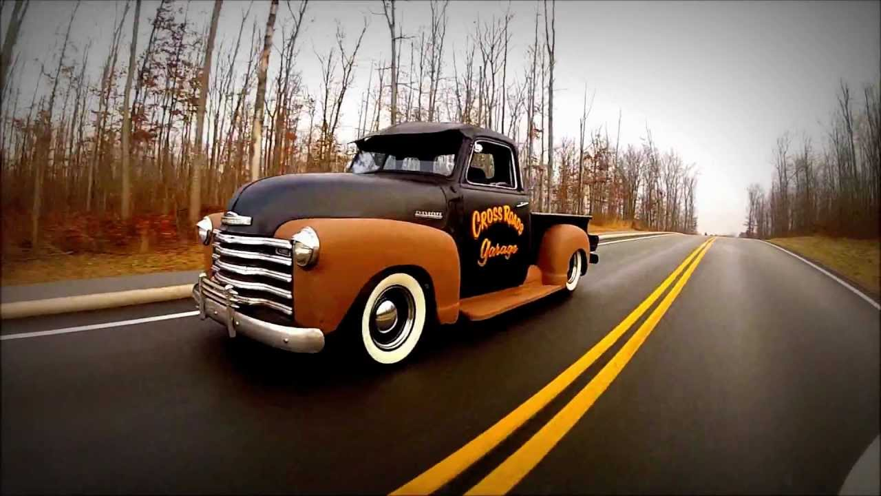 Interstate Driving Iphone Ipad 1949 Chevrolet 5 Window Air Bagged Chevy Truck Rat Rod Slammed Shop Youtube