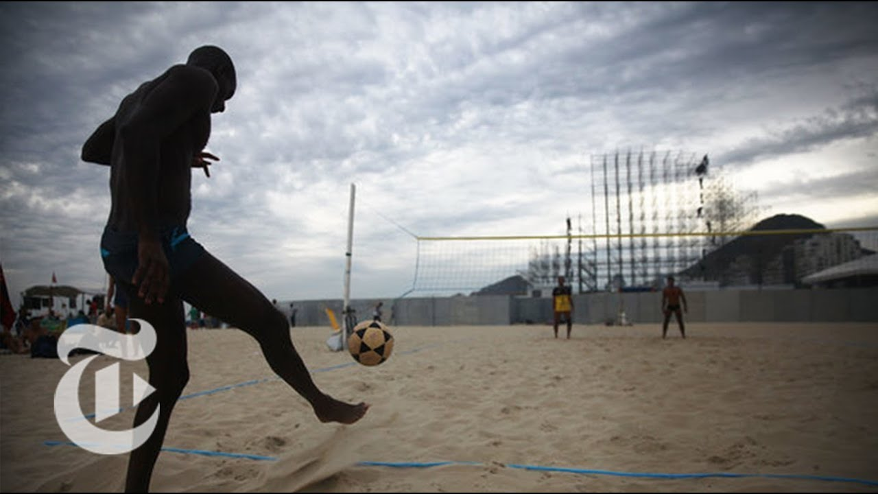 Futevolei: Brazil's Other Favorite Sport | The New York Times