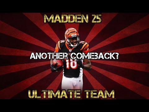 Madden 25 Ultimate Team - AJ Green Destroys My Defense - MUT 25