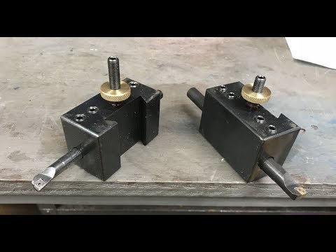 QCTP Boring Bar Holders Part 1 of 2 - Material Preparation