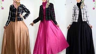 Busana muslim terbaru untuk wanita, baju kurung moden, gamis pesta, model baju terbaru