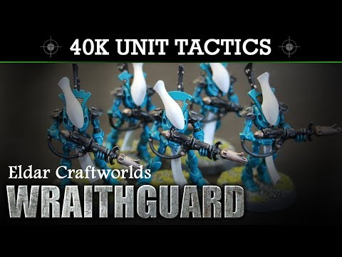 Eldar Craftworlds WRAITHGUARD Tactics & Unit Showcase 8th Edition