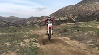Dirt Bike Jumps - Temecula Hills, SoCal Hills