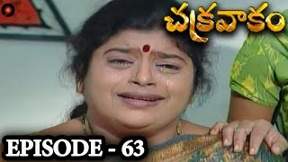 Episode 63 | Chakravakam Telugu Daily Serial