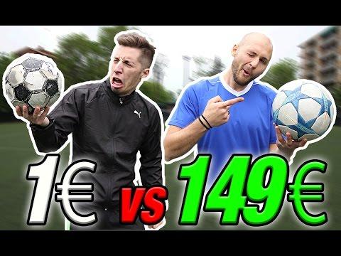 €1 FOOTBALL VS €149 CHAMPIONS LEAGUE FINAL - Il miglior PALLONE??