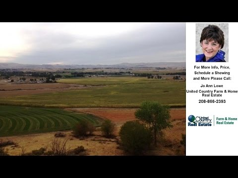21.9 Ac Fargo, Wilder, ID Presented by Jo Ann Lowe.