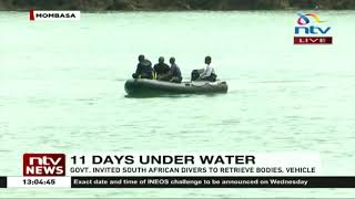 Likoni recovery operations: South African divers close in on 300M radius