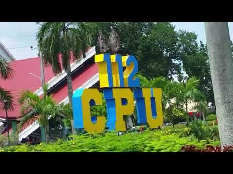 First time visiting CPU ( Central Philippine University )