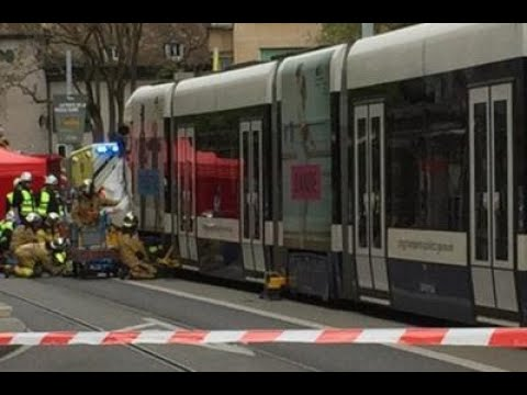 Geneve Accident de tram a Suisse (tpg , Geneve 24/10/15)