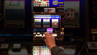 $100 Wheel of Fortune Slot Machine Hand Pay Jackpot on 1st Pull High Limit