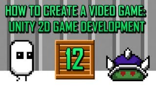 Unity 2D Game Development 12 : Creating an Enemy