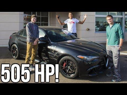 2018 Alfa Romeo Quadrifoglio Review!! 505 Horsepower!!
