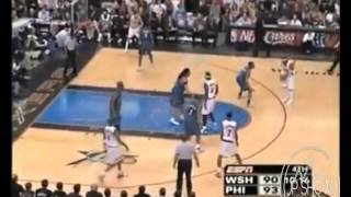 insane ankle breaker and easy layup (by allen iverson)