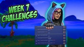 Fortnite - Week 7 Leaked Challenges | Week 7 Guide (Season 8) - Fortnite Battle Royale