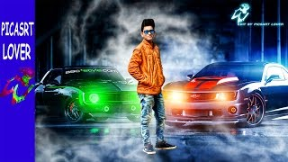 AWESOME COOL BOY WITH CAR EDITING SO EASY MANIPULATION PICSART EDITING TUTORIAL  NEW EDITING 2017