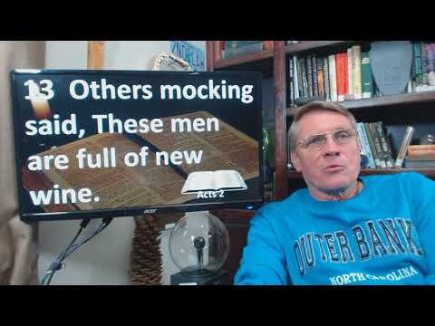 Dr. Kent Hovind 11-17-17 Acts 2, Is speaking in tongues for today?