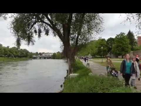 Ulm 多瑙河畔 Danube (Donau) River 2015 Music