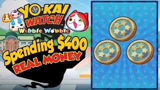 Yo-Kai Watch Wibble Wobble - Rewards For Spending $400 In REAL MONEY! [iOS Android Gameplay]