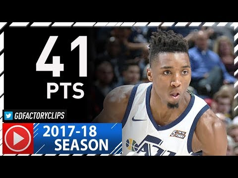 Donovan Mitchell CRAZY Full Highlights vs Pelicans (2017.12.01) - Career-HIGH 41 Pts, ROY Mode!