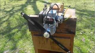 Homelite 25CC air boat engine by Dr Tune!