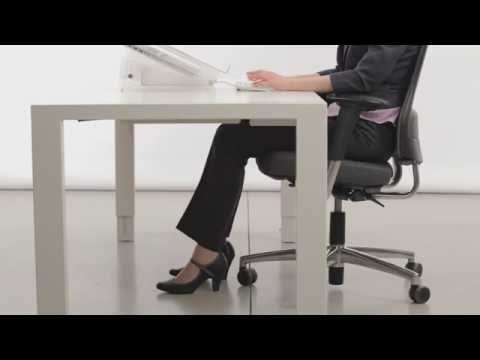 Axia 2.0 Sitting instructions, Healthy working